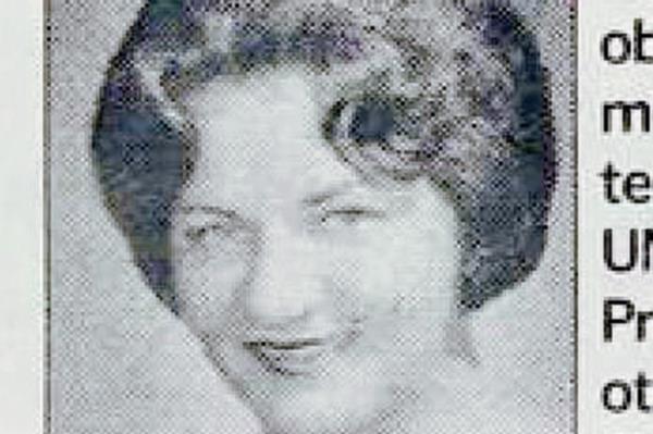 Consuelo de Sánchez-Latour, en una fotografía de 1958. (Foto: Hemeroteca PL)