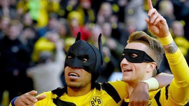 Los dos superhérores del Borussia Dortmund. (Getty)